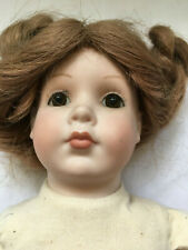 Grace C. Rockwell reproduction porcelain doll 13.5 inches