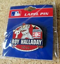 2019 Baseball Hall of Fame Induction Year pin Roy Halladay Philadelphia Phillies