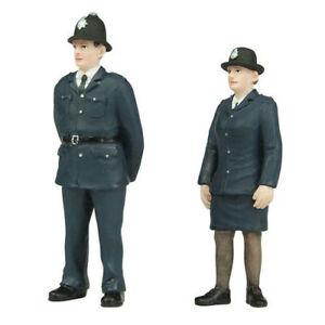 Policeman and Policewoman - 2 figures set Bachmann 47-407