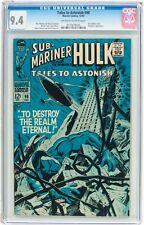 Tales to Astonish #98 CGC 9.4 Marvel 1967 Hulk! Sub-Mariner! Avengers! G5 125 cm