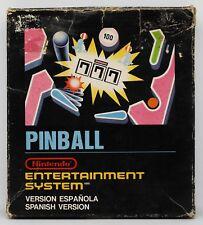 PINBALL - NINTENDO NES - PAL ESPAÑA B - CAJA PEQUEÑA MINI