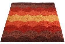 Mid Century Danish Modern Rya Style Shag Rug / Art Deco Area Carpet (8X10)
