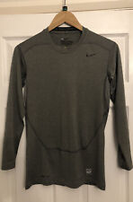 Mens Nike Dri Fit Pro Combat Long Sleeve Top, Size M, Very Good Condition