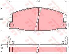 Bremsbelagsatz Scheibenbremse TRW GDB870 vorne für OPEL CAMPO FRONTERA Sport 2.0