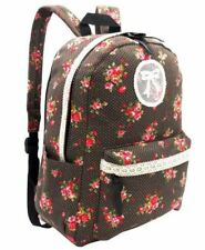 Surge Fashion Floral Casual Canvas Backpack