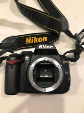 Nikon D3000 Body Only No Charger Or Battery Tested Works