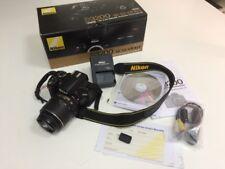 Nikon D D3200 24.2 MP SLR-Digitalkamera - Schwarz (Kit m/ AF-S DX 18-55mm f/3.5-