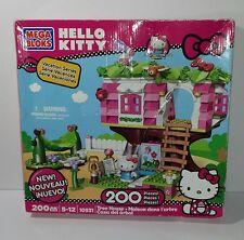 Mega Bloks Hello Kitty Tree House Building Set 10931 w/ Instructions