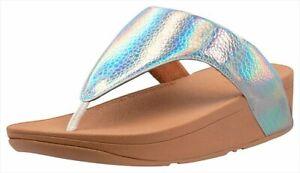 Fitflop Womens Lottie Iridescent Flip Flops