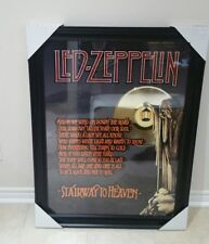 Led Zeppellin Stairway to heaven picture with gold record