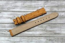 Jaeger-LeCoultre Strap Watch Real Leather Ostrich Miele Women's 14mm Service