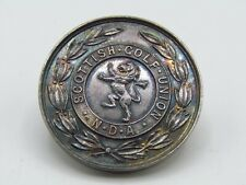 STERLING SILVER SCOTTISH GOLF UNION N.D.A COMMEMORATIVE AWARD COIN z2
