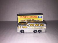 Matchbox Lesney Vintage 66 Greyhound Coach All Original