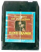 Treasury Of Favorites Floyd Cramer (8-Track Tape, DVS1-0688)