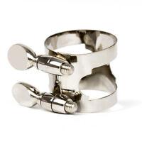 Soprano Saxophone Ligature for Sax Accessories Parts Nickel Metal