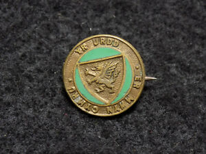 Antique Welsh Language & Youth Festival Enamel Pin