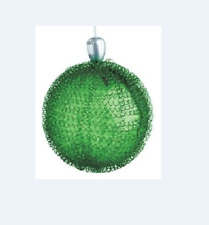 GKI/BETHLEHEM Lights 6 inch Green Glass LED Maille Sphere 100026992