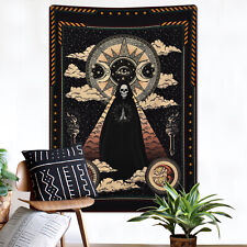 Dark Style Tapestry Wall Hanging Tapestry Gothic Sun Bedspread Room Decoration
