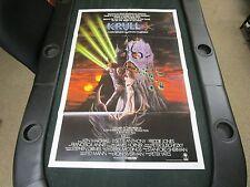 1980s 1 sheet Movie Poster Krull Ken Marshall Lysette Anthony Monster Fantasy