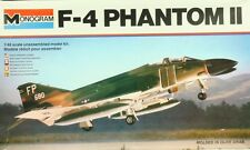 Monogram 1:48 F-4 Phantom II Plastic Aircraft Model Kit #5800U