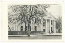 Tazewell County Court House, Tazewell, Virginia RPPC