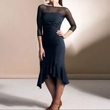 Latin Ballroom Competition Dance Dress Modern Waltz Tango Standard Dress#Y050
