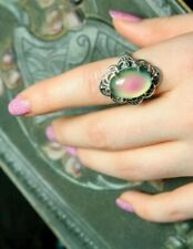 Victorian Trading Sterling Silver Mood Ring Size 6