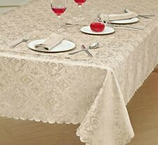 Table Cover Table Cloth Topper Matching Napkin Table Runner Jacquard Polyester