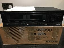 Kenwood KX-96W Cassette Deck Retro tape deck with instructions included