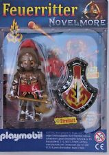 Playmobil  Novelmore  Fire Knight with Shield & Axe    Blister Pack     Mint