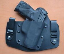Leather Kydex hybrid IWB holster for Taurus PT-111 G2. PT-140 G2