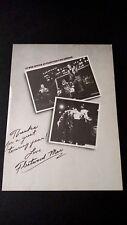 FLEETWOOD MAC #1 BOX OFFICE ATTRACTION 1980  RARE ORIGINAL PRINT PROMO POSTER AD