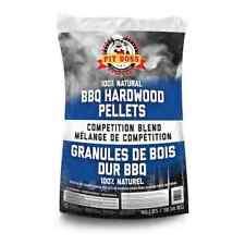 NEW Pit Boss BBQ Wood Pellets Competition Blend 40-lb Bag Hardwood 100% Natural