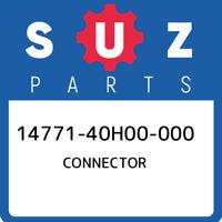 14771-40H00-000 Suzuki Connector 1477140H00000, New Genuine OEM Part