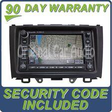 Honda CR-V Radio Navigation GPS Radio CD Disc Player DVD Rom 2AN2 XM MP3 OEM