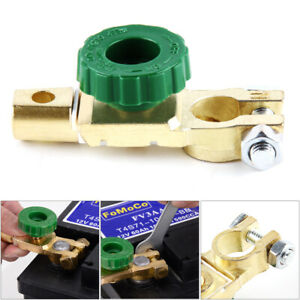 Car Battery Switch Isolator Terminal Quick Cut-off Disconnect Master Shut Kill