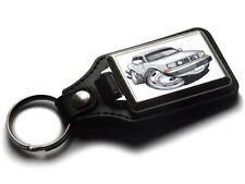 Koolart Cartoon Car Volvo 144 Leather and Chrome Keyring