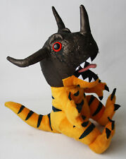 "RARE VINTAGE 1999 DIGIMON GREYMON 10"" PLUSH TOY PLAY BY PLAY NEW NOS !"