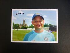 Hrishikesh KANITKAR - INDIA TEST cricket signed photo (5x7) - TEST cap No. 224