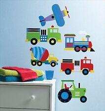 Olive Kids Trains, Planes & Trucks Peel & Stick Mini Mural 13361