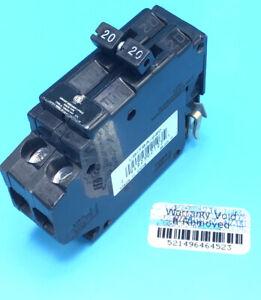 Circuit Breaker Challenger A220  20 Amp  2 Pole 120/240V Side Clips UBITBA220