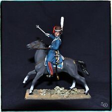 Cossack chieftain Russian cavalry 1812 Napoleonic Wars 54 mm painted tin soldier