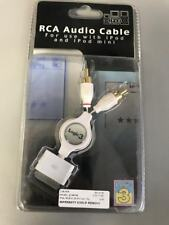 Logic3 Retractable RCA Audio Cable for Apple iPod Classic