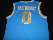 Authentic Swingman sewn UCLA Signed Russell Westbrook Autographed Jersey COA