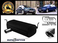 SILENCIEUX POT D'ECHAPPEMENT BMW 3 E46 COMPACT 2001 2002 2003 2004 TIP 90