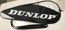 Dunlop AeroGel Zipper Tennis Racket Cover Bag w Adjustable Strap Waterproof 💦