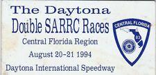 SCCA Dash Plaque 1994 DAYTONA Double SARRC Races @ Daytona