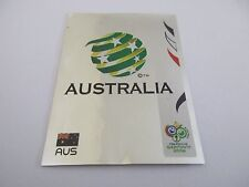 Sticker PANINI Fifa World Cup GERMANY 2006 N°417 Logo Écusson Australia