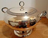 Meridian Silver Plate Soup Tureen 1874