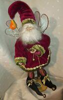 "Mischievous Mark Roberts 12 days of Christmas 24"" Santa Fairy"